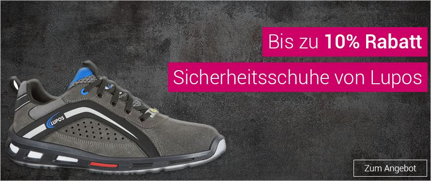 Bis zu 10% Rabatt auf Schuhe der Marke Lupos