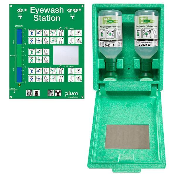 Plum Augenspülwandbox