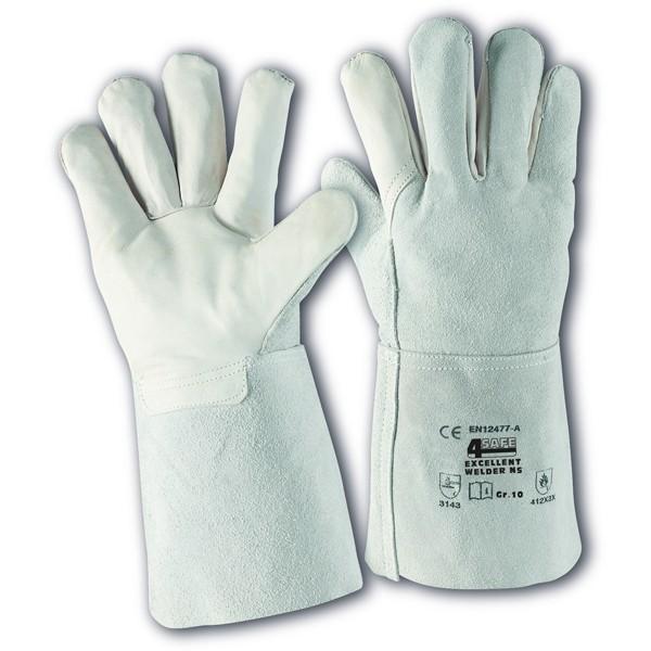 5-Finger Schweißerhandschuhe   Gr. 10