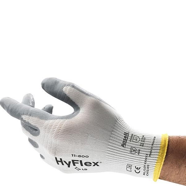 Ansell Mechanikschutzhandschuh HyFlex Foam 11-800 Gr. 6