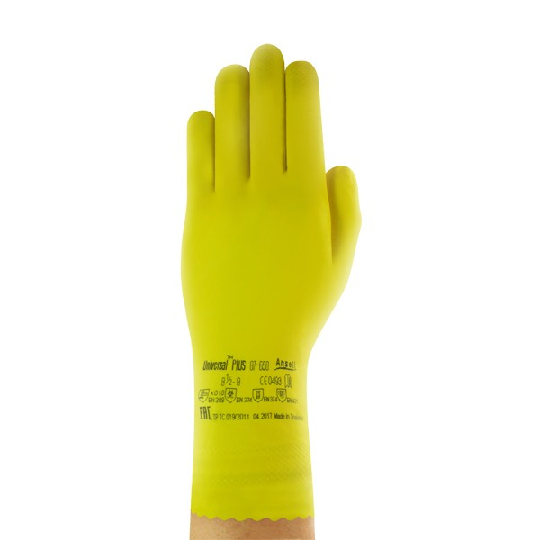 Ansell Chemikalienschutzhandschuh Universal Plus  Gr. 6,5 - 7