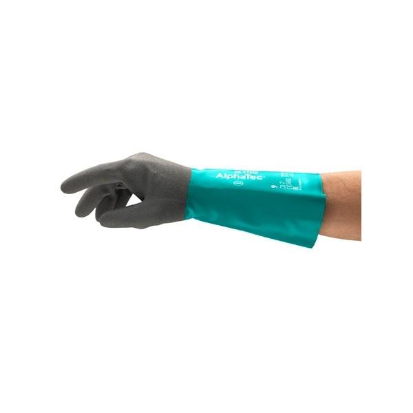 Ansell Chemikalienschutzhandschuhe Alphatec 58-535W Gr. 10