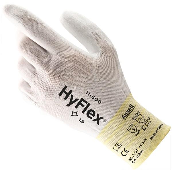 Ansell Mechanikschutzhandschuh Hyflex 11-600 Gr  8