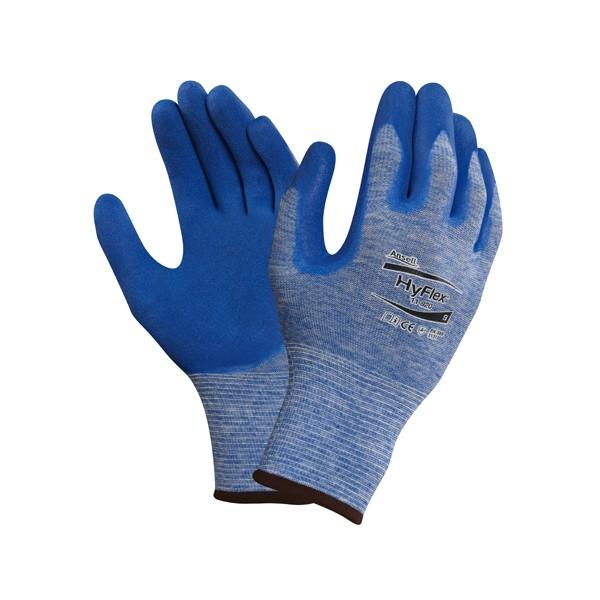 Ansell HyFlex® 11-920, blau, Gr. 9