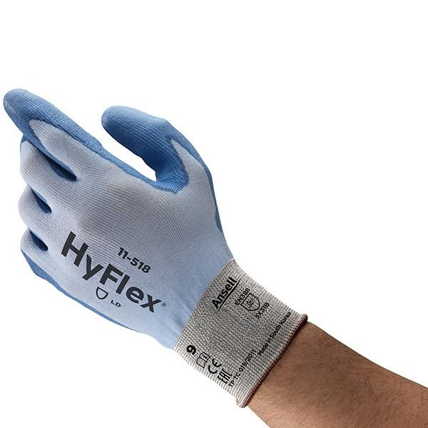 Ansell Hyflex 11-518 blau Gr. 10