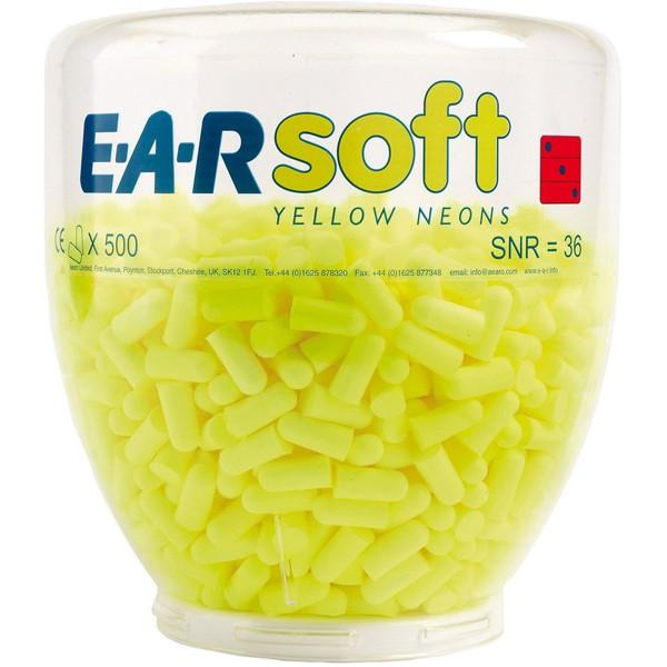 3M Ear Soft Yellow Neons Refill Aufsatz