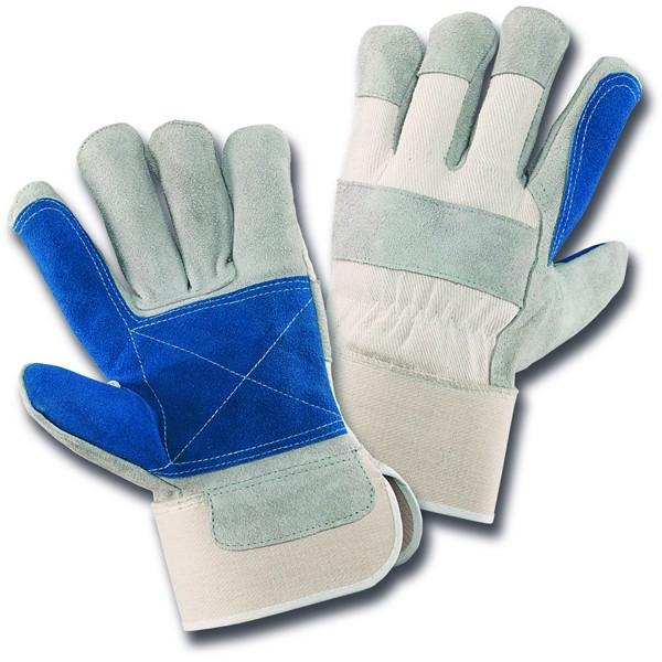 5-Finger-Rindspaltleder-Handschuh