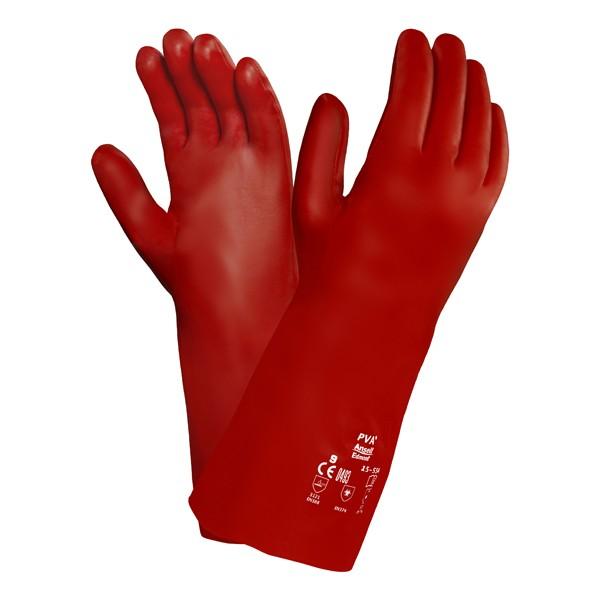 Ansell Chemikalienschutzhandschuhe PVA 15-554 Gr. 9
