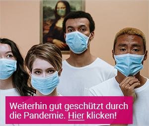Personen mit medizinischen Masken